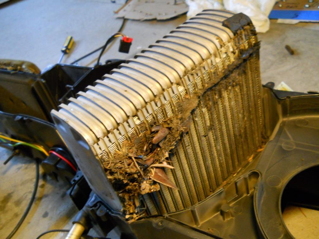 94 Jeep Zj Instrument Panel Heater Core Ac Evaporator