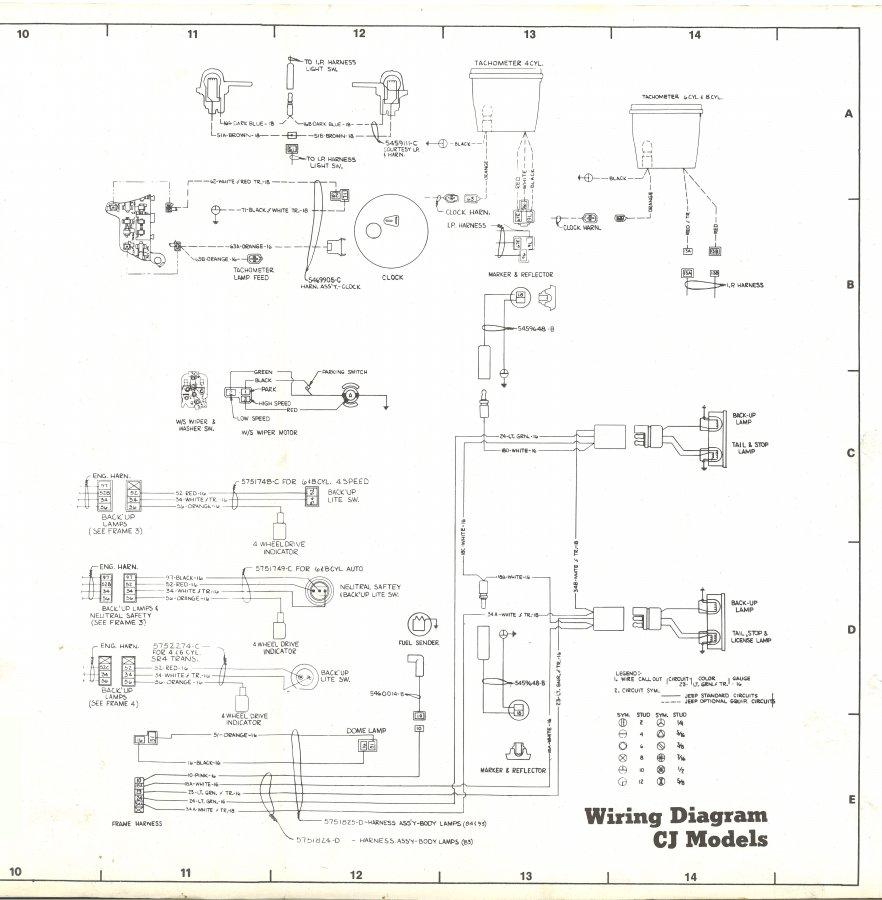 1980 cj schematic sheet 3 original jpg