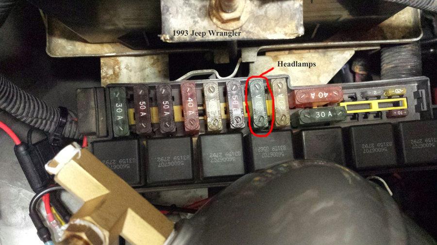 1993 jeep wrangeler fuse box - headlamp 30amp fuse jpg