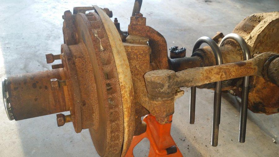 Dana 44 steering arm options - High steer or Waggy standard