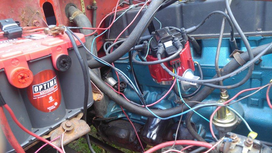 84 258 hei install - jeepforum com cj distributor to dui wiring diagram  on cj7 wiring hei jeep