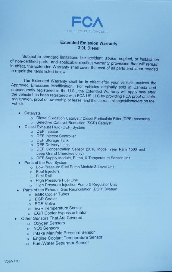 EcoDiesel Lawsuit & Settlement - JeepForum com
