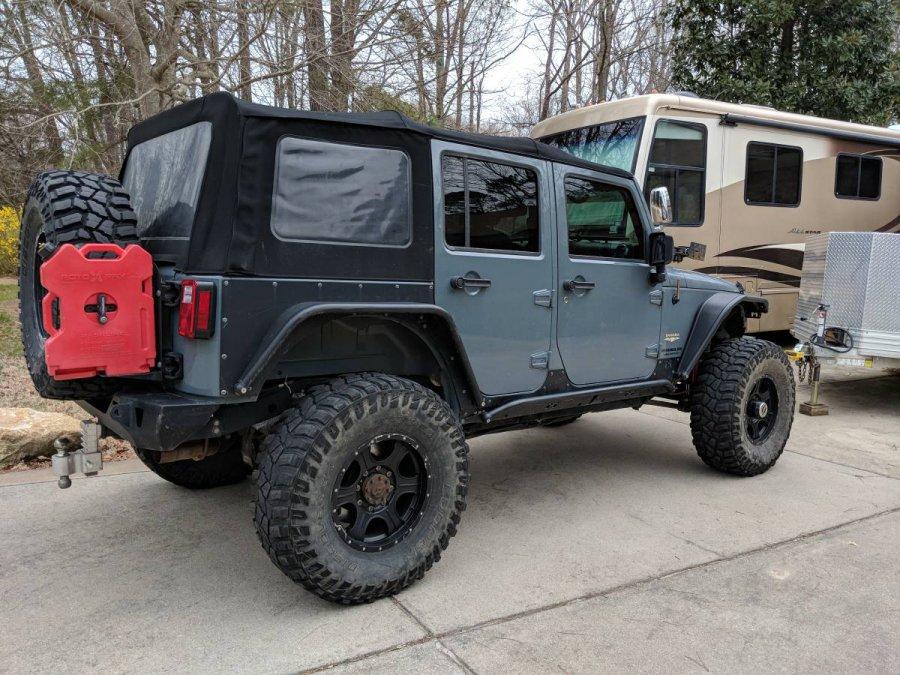 2015 Jeep Wrangler Unlimited Jku Sahara Heavily Modified