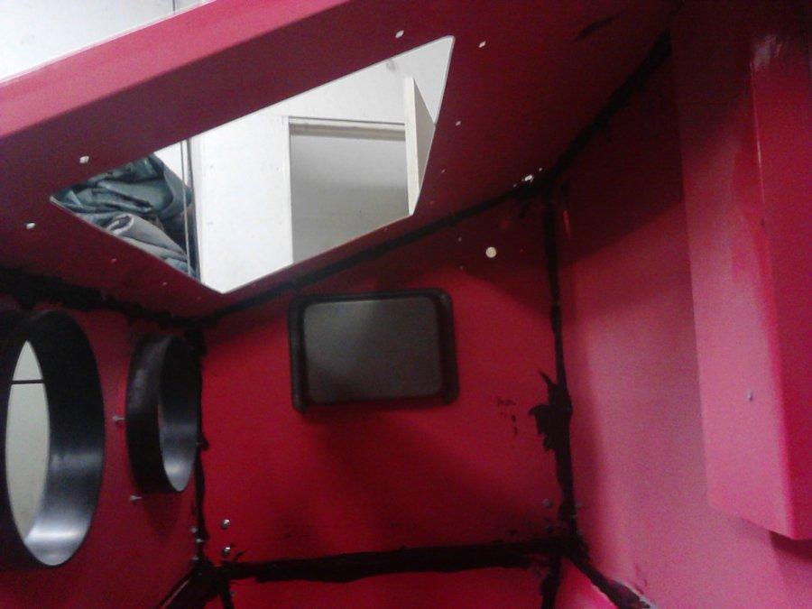 Harbor Freight sandblasting cabinet modifications  - Page 2
