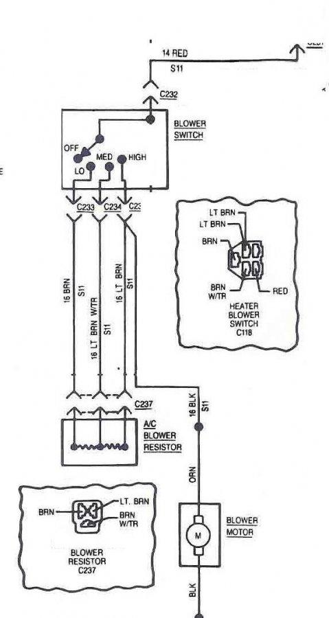 blower motor switch wiring  jeepforum