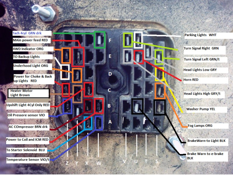 bulk head wiring diagram 1980 jeep cj7  pietrodavicoit