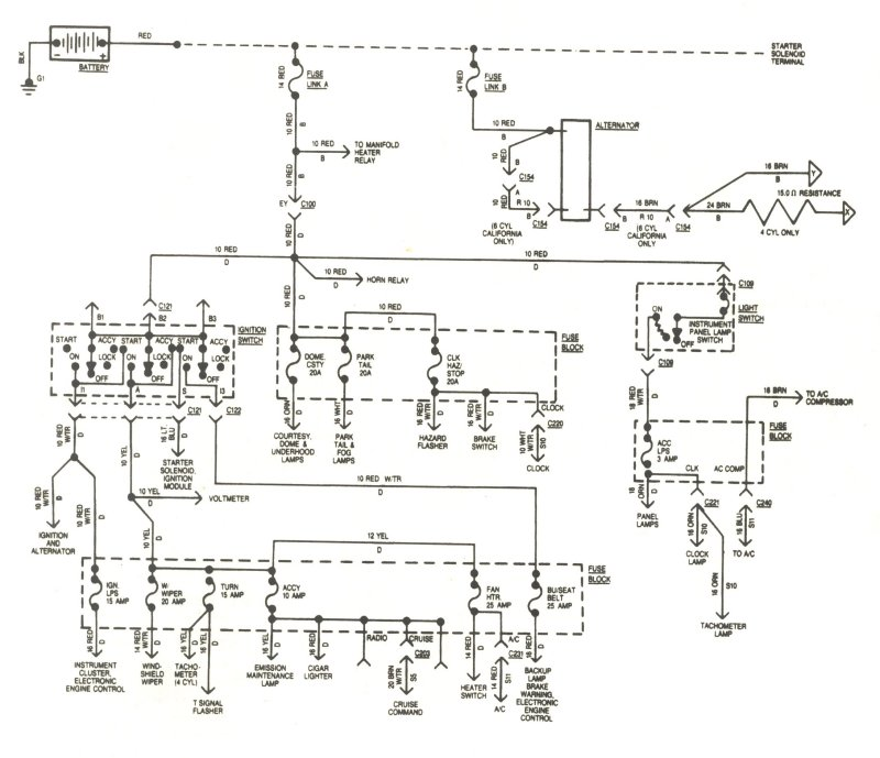 83 cj 7 no spark - JeepForum.com Postal Jeep Wiring Diagram on