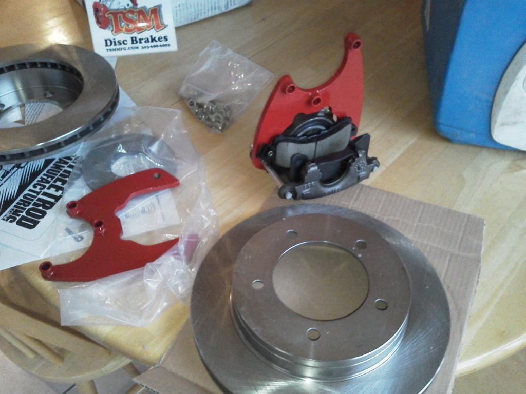 AMC 20 Disk Brake conversion - JeepForum com