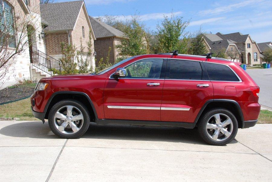 2012 Grand Cherokee Overland 5 7 Hemi 4x4 Original