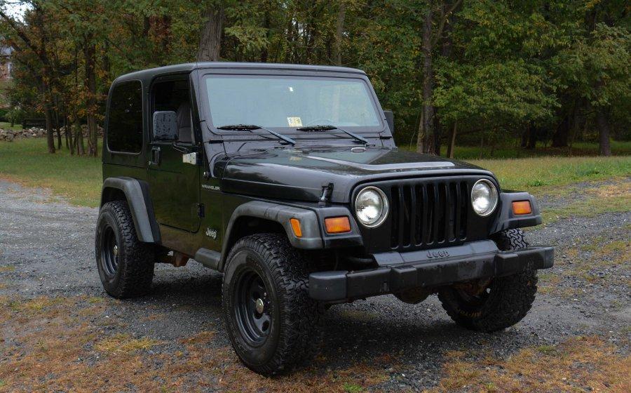 1998 jeep wrangler tj full doors hard top black. Black Bedroom Furniture Sets. Home Design Ideas