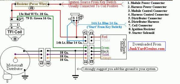 Duraspark Ignition Module Wiring Diagram on