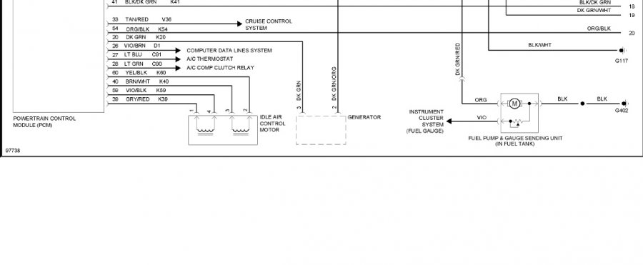 yj ecm schematic  - not the wires - page 2