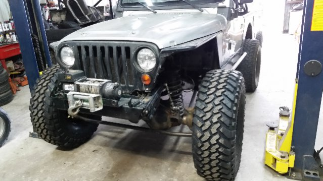 Jeep Wrangler Fenders >> Artec Superduty Dana 60 TJ beta tester review - JeepForum.com