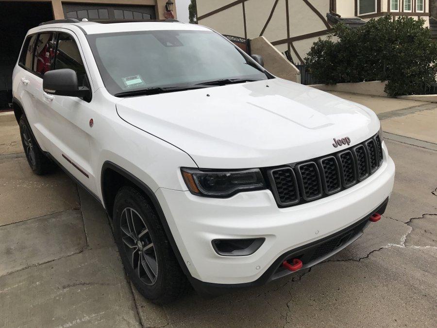 Jeep Grand Cherokee Trailhawk Hood Decal Satu Sticker