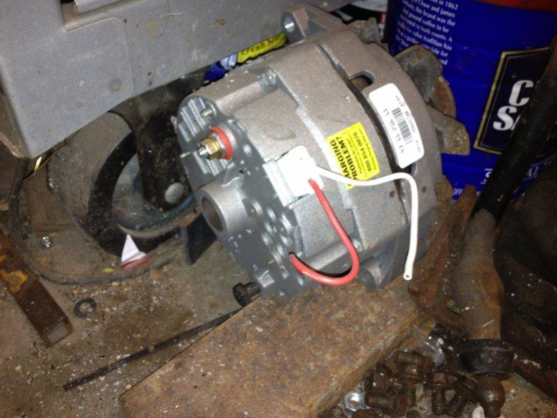 proper wiring of alternator jeepforum com rh jeepforum com Jeep Wrangler Alternator Wiring Jeep Alternator Wiring Diagram