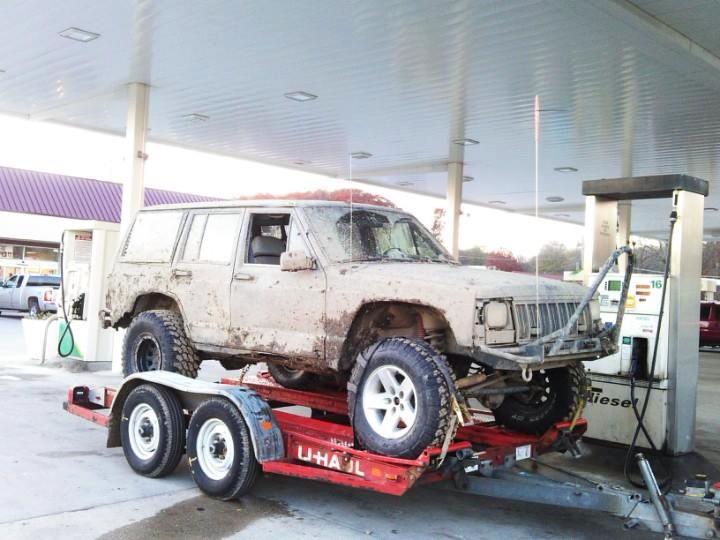 Jeep xj rear stinger #4