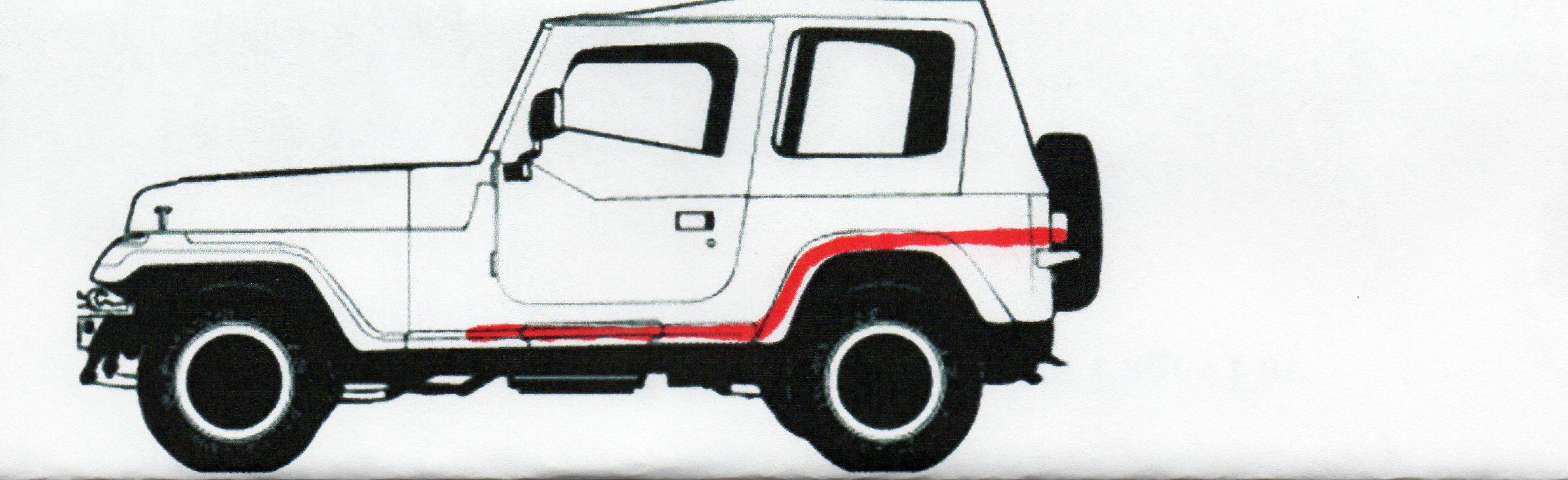 High exhaust exit (aka exhaust snorkel) - JeepForum com