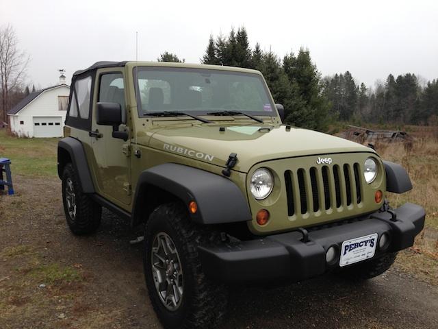 Jeep JK Commando Green