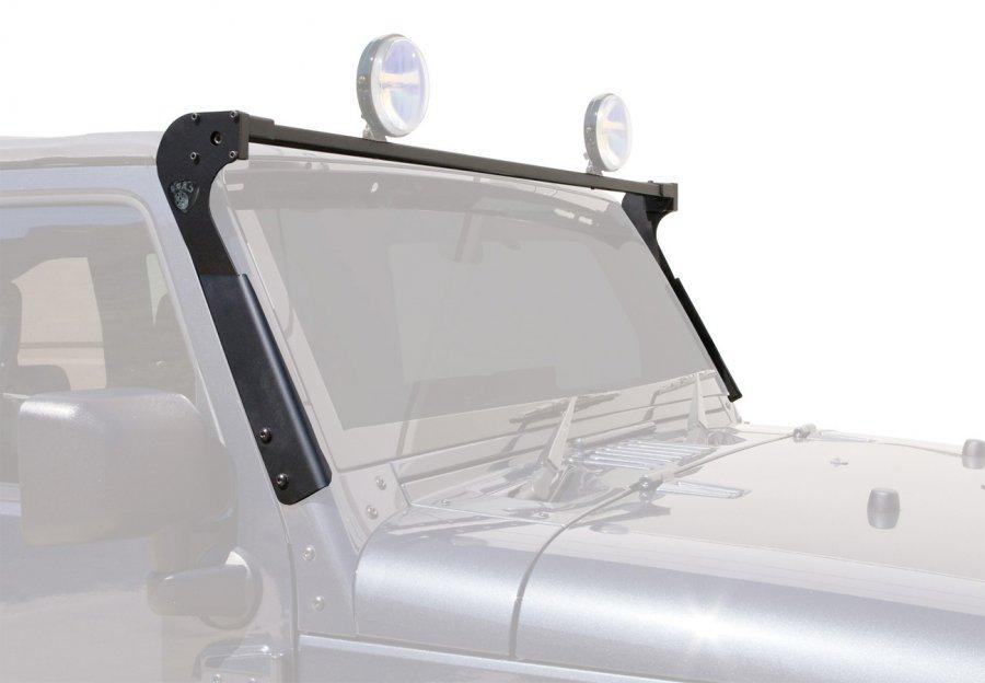 CJ7 Windshield Frame KC Light wiring - JeepForum.com