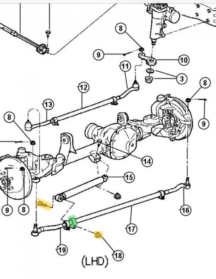 Moog Ssd107 Installation Diagram For Jeep Wj