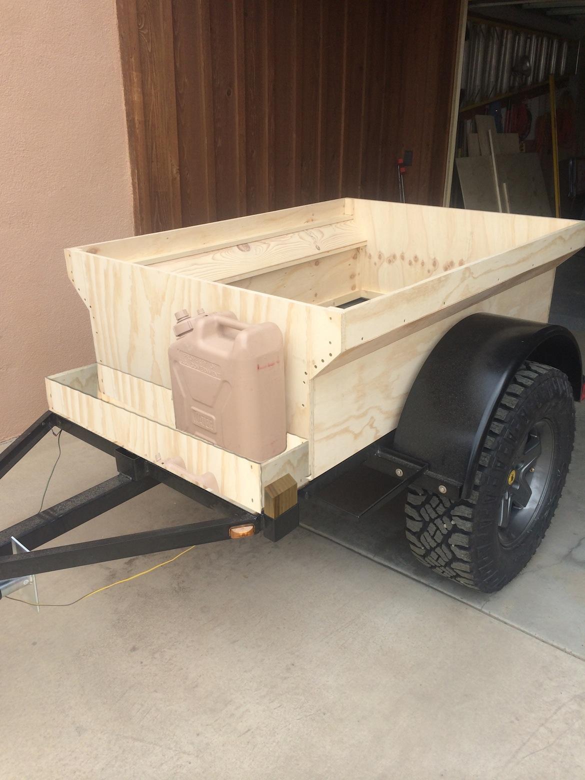 Mini Harbor Freight  Type  Trailer Ultimate Build