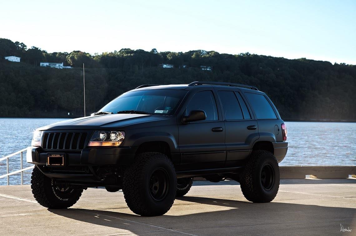 Black paint job Jeep wj, Lifted jeep cherokee, Jeep