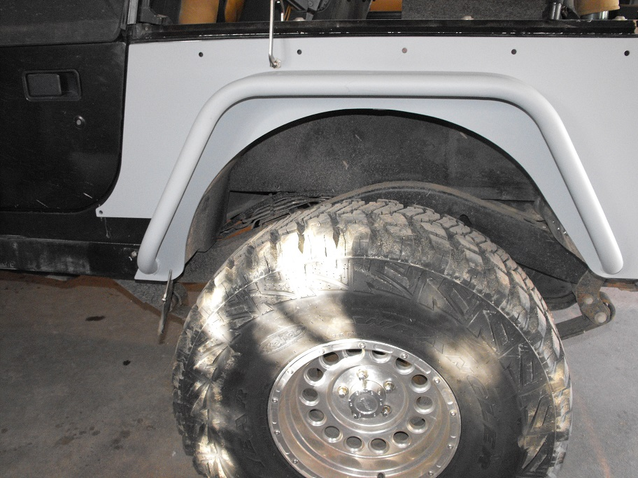 Tnt Tube Fender And Corner Armor Install Jeepforum Com