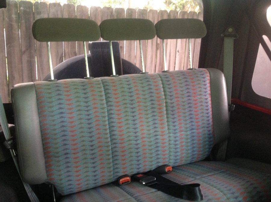 Rear Seat Headrest solution JeepForumcom