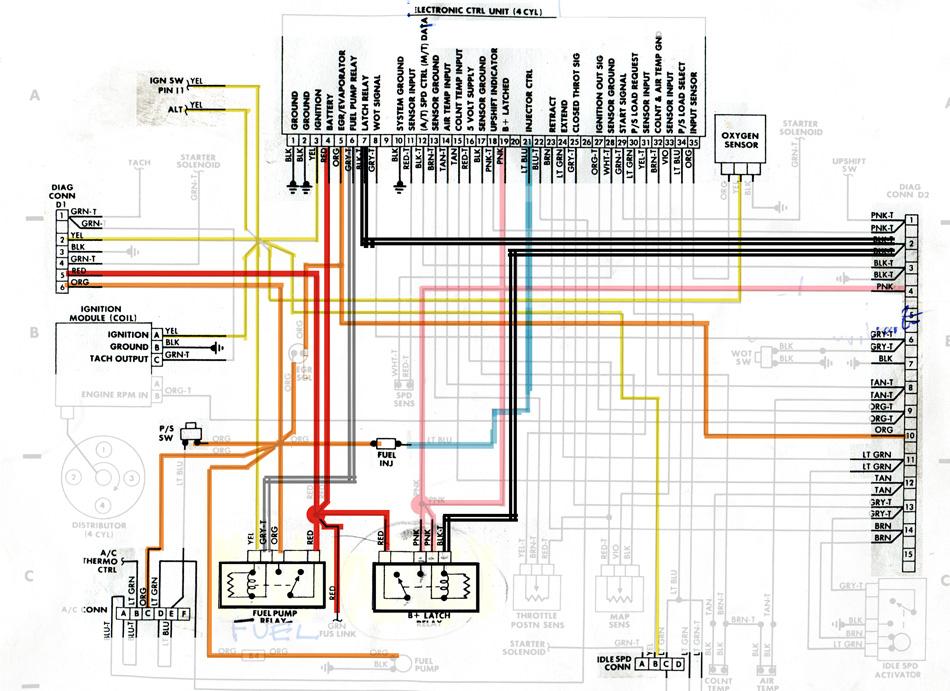 88 Dodge Fuel Pump Locationon Electronic Ignition Wiring Diagram