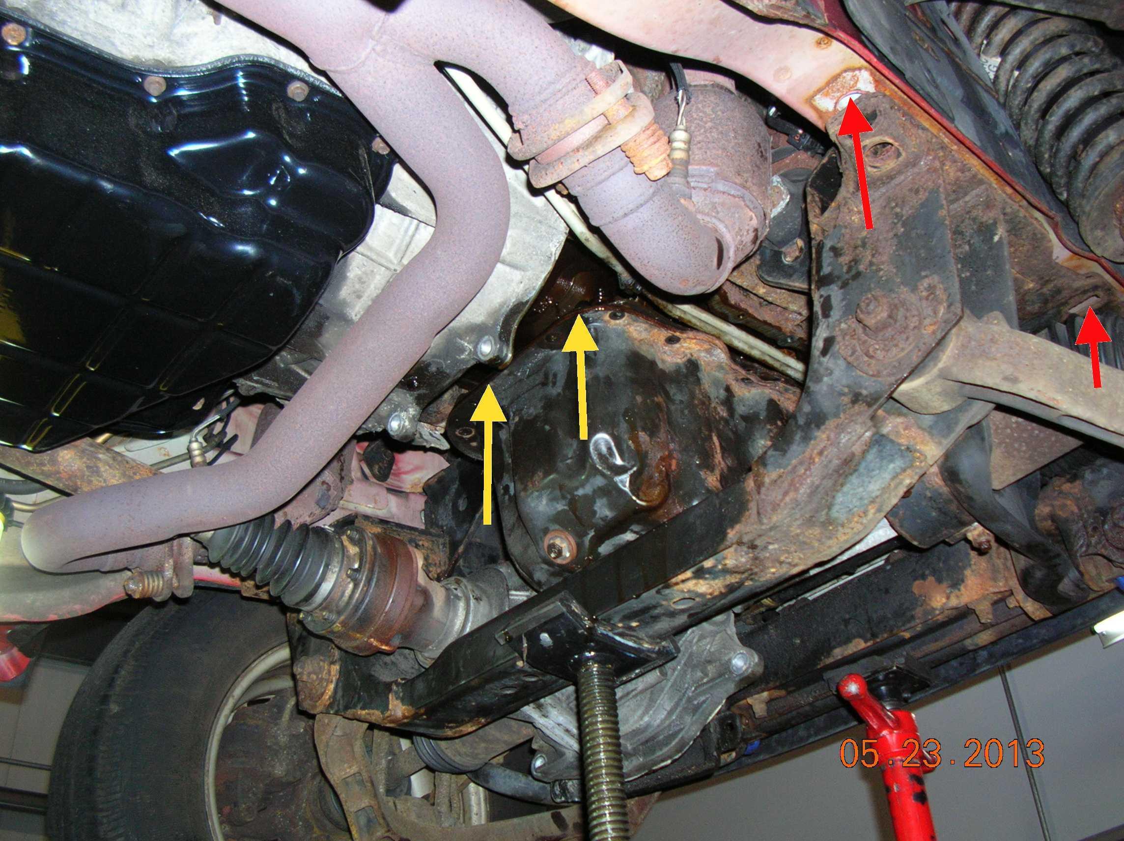 3 7L Oil pan replacement pictures - JeepForum com