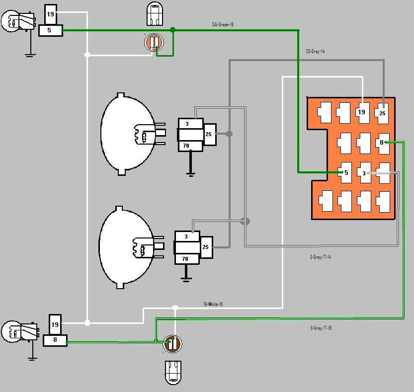 Cj7 Wiring Harness Issue For Front, Jeep Cj Wiring Diagram