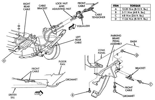 Emergency Brake Diagram And Pn Needed