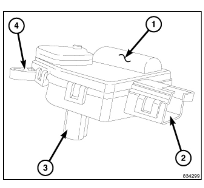 No Heat On Passenger Side - Blend Door Gears