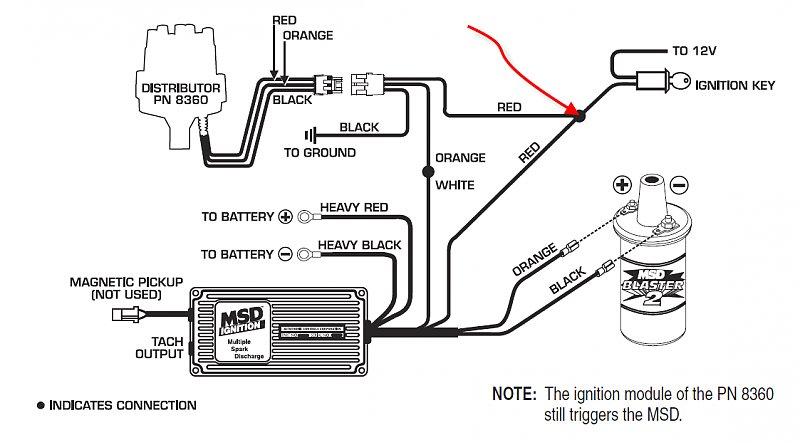 msd 6al wiring diagram jeep 76 cj7 msd 6al cdi where to tap switched power  jeepforum com  76 cj7 msd 6al cdi where to tap