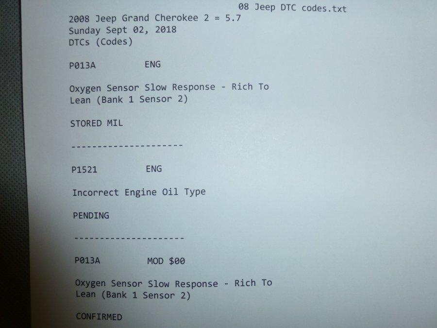 code p013a