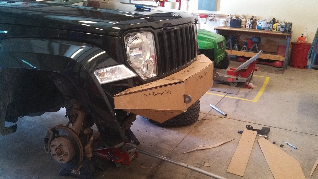 My Custom Bumper Build Thread Jeepforum Com