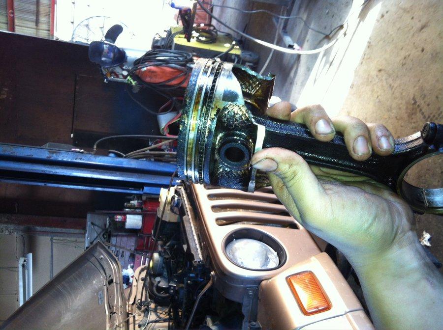 Broken Piston Skirt, and rebuild - JeepForum com