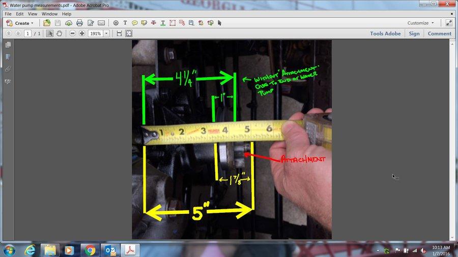 Water pump/fan v belt pulley - JeepForum com