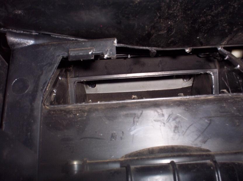 Recirc door fix through glovebox  Functional    not just one