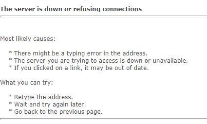 Name:  server is down.JPG Views: 116 Size:  24.2 KB