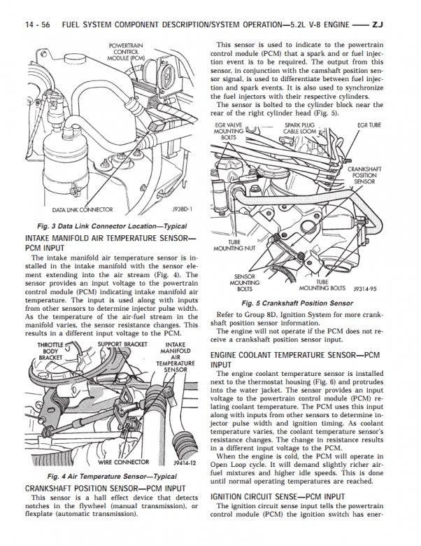 Engine Coolant Temperature Sensor Jeepforum Com