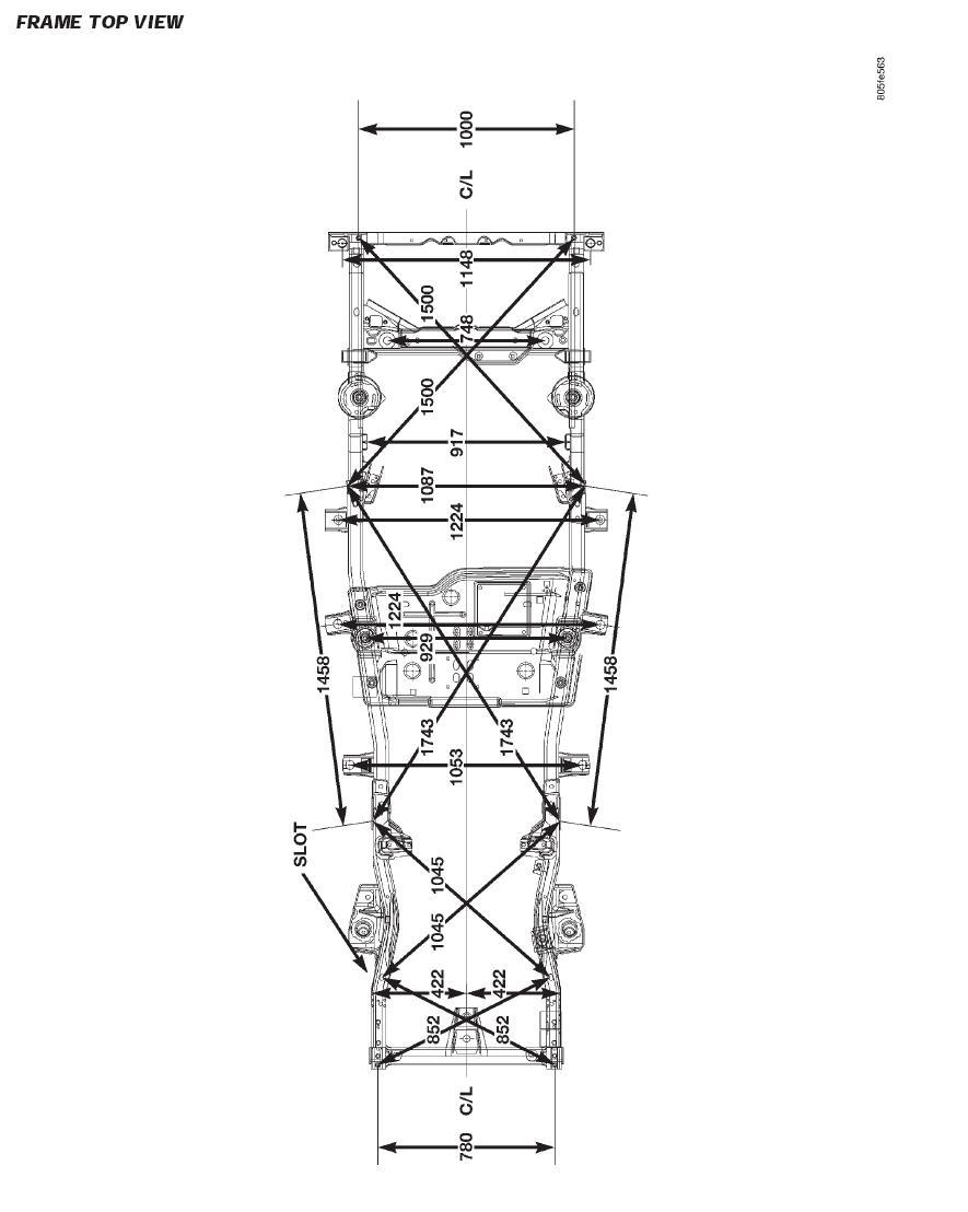 door frame diagram 2000 tj frame dimensions - jeepforum.com