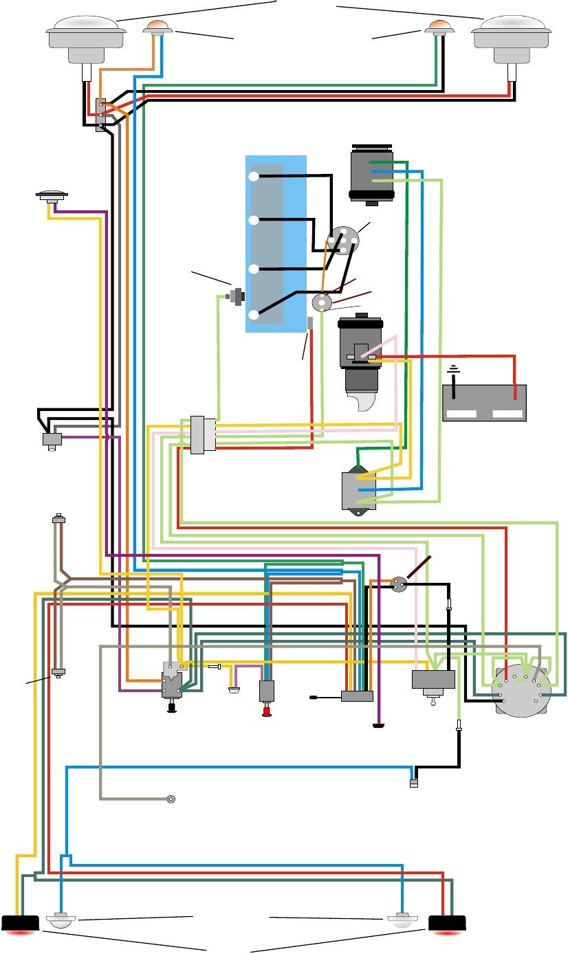 jeep cj5 wiring diagram 1970