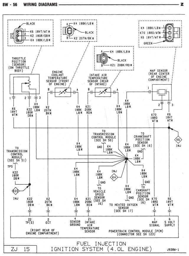 wiring diagram jeep grand cherokee zj wiring diagram 1989 Jeep XJ Wiring-Diagram Jeep XJ Under Hood Diagram