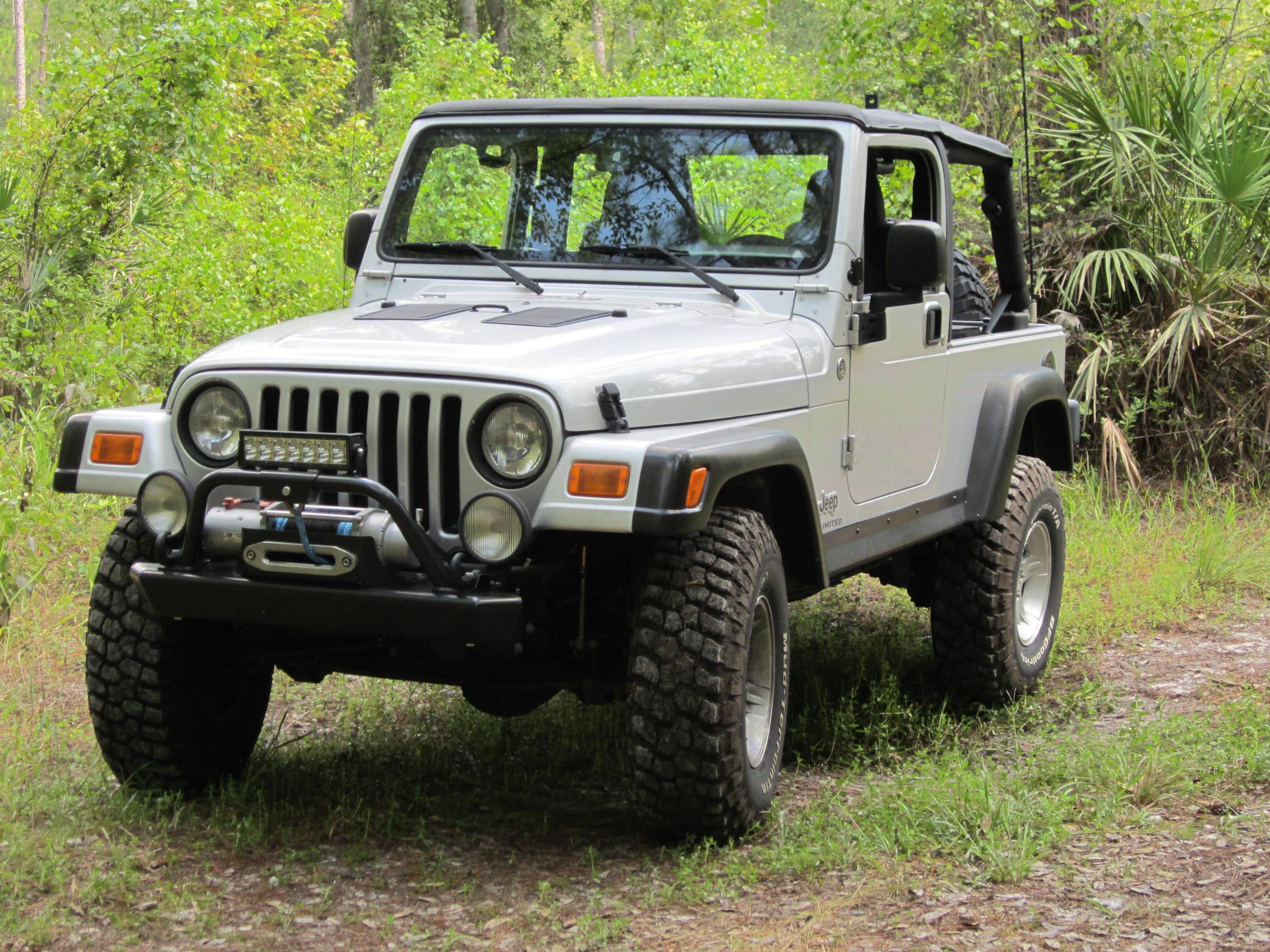 Tj Lj Ome Lift On 33x10 5x15 Tires Jeepforum Com