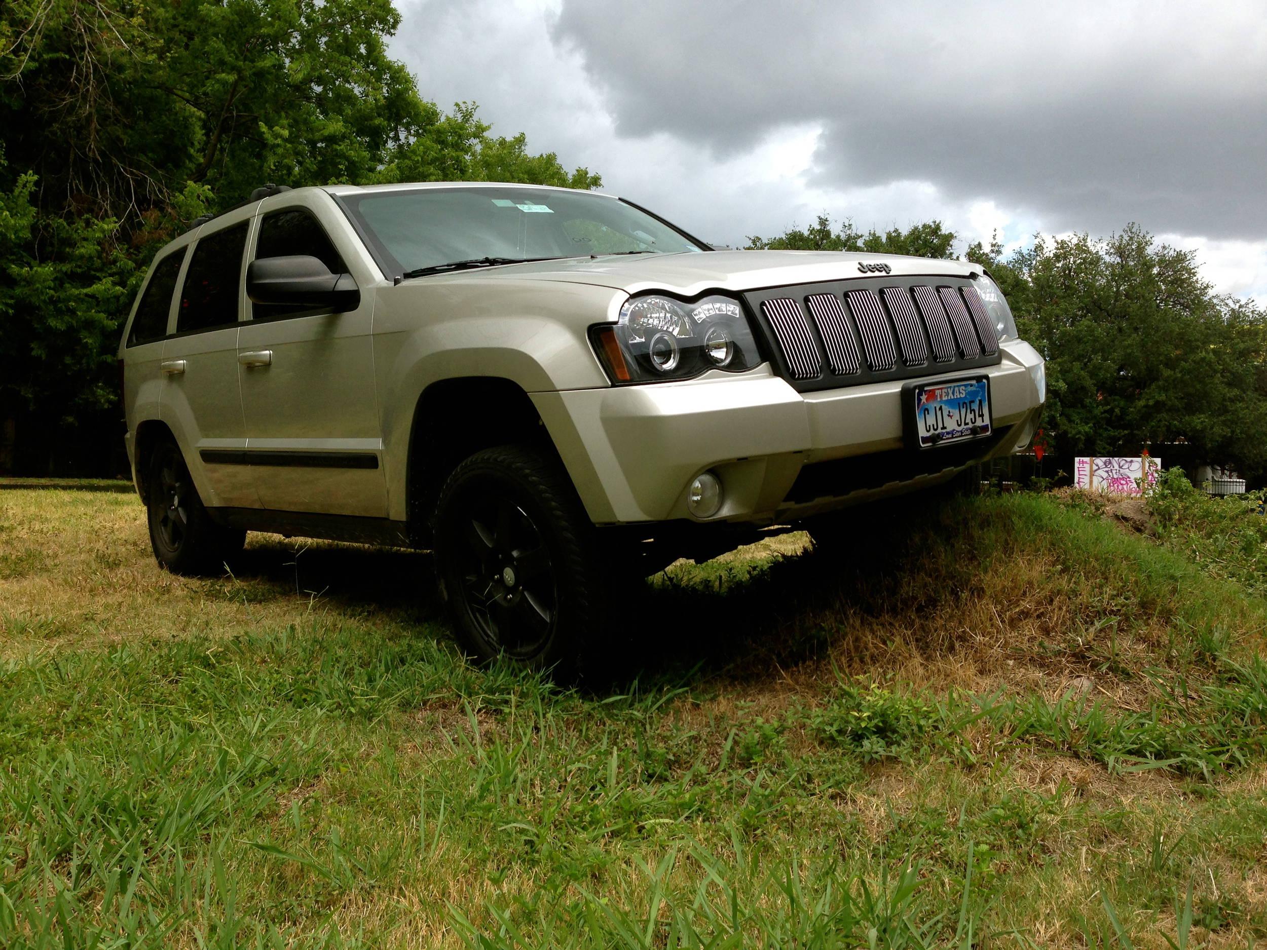 jeep wk lifted grand cherokee