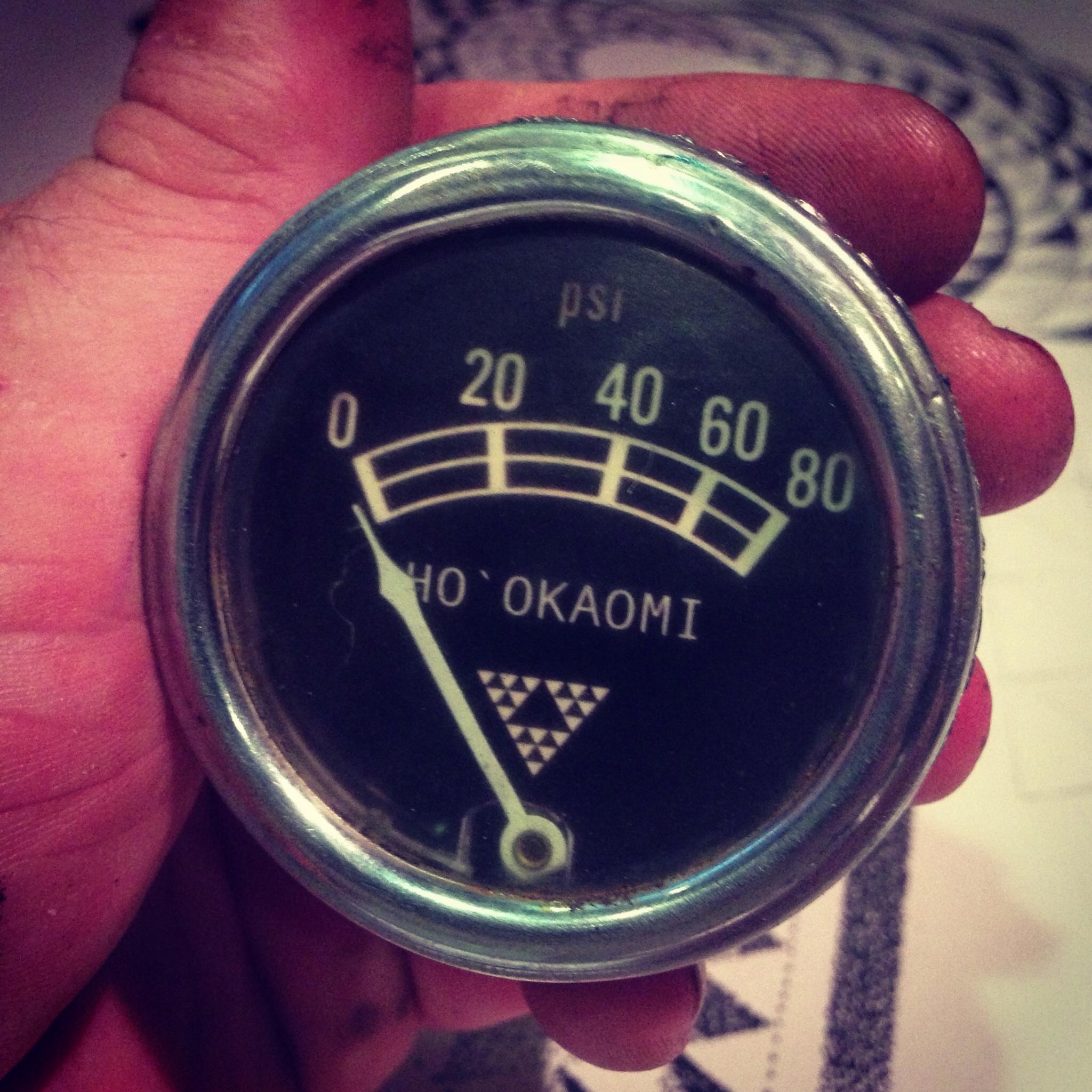 Hawaiian style gauges