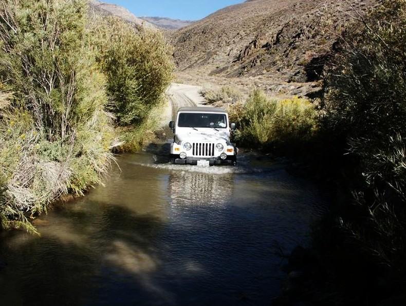 Silver Canyon in High Sierra