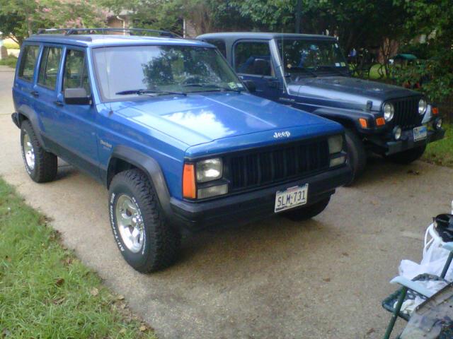 1993 XJ 4X4 4.0L