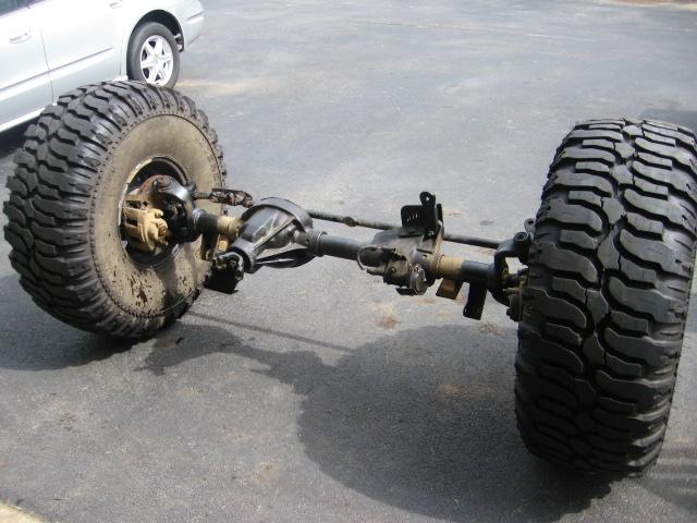 3 4 Ton Axle Swap Has Begun Jeepforum Com